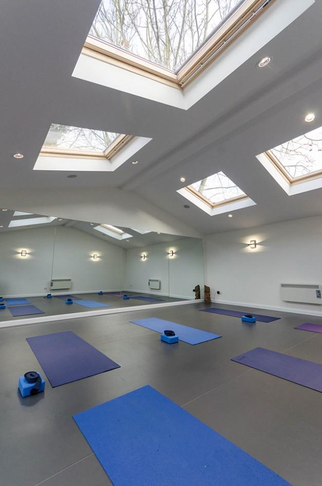 Dance Studio Skylights