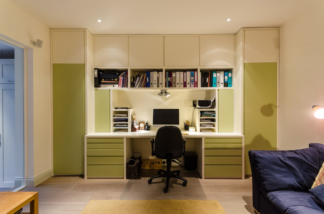 Refurbished office space