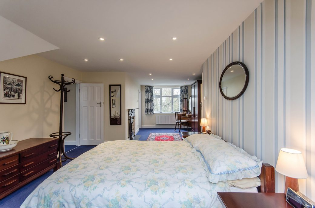 A large bedroom extension