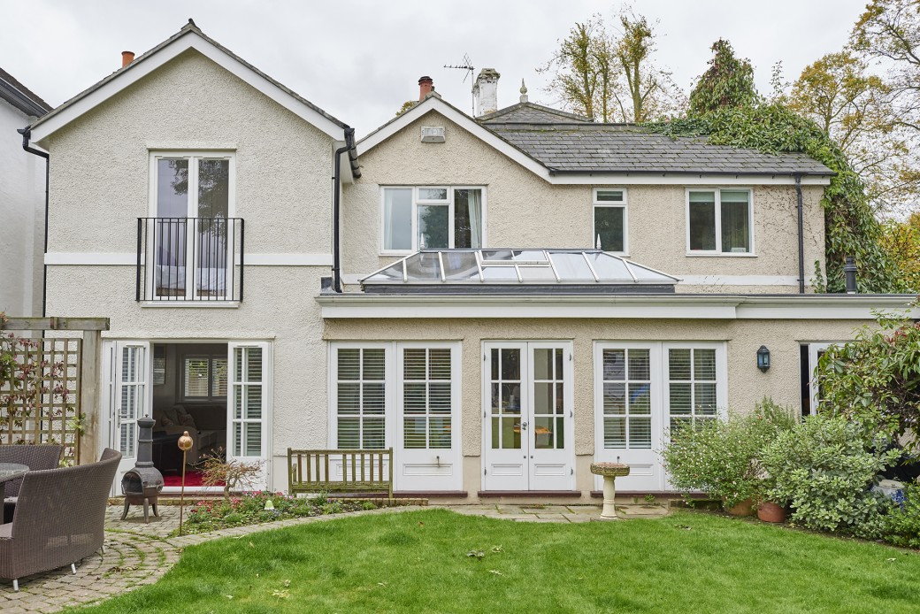 Property after double-story rear extension