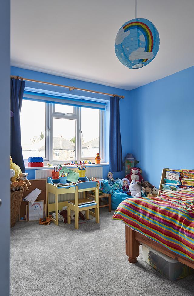 The second children's bedroom