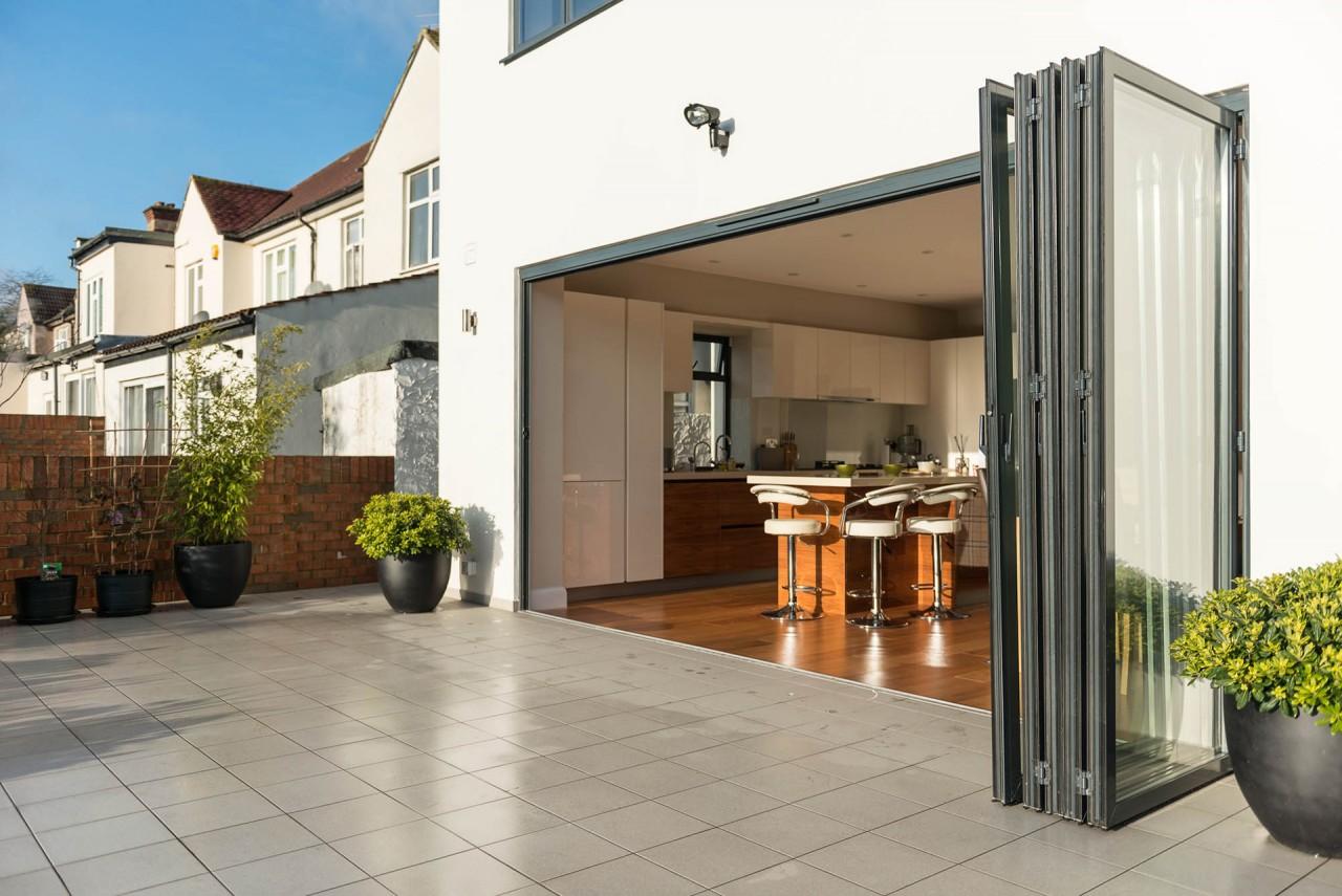 Bi-fold doors by Sunflex