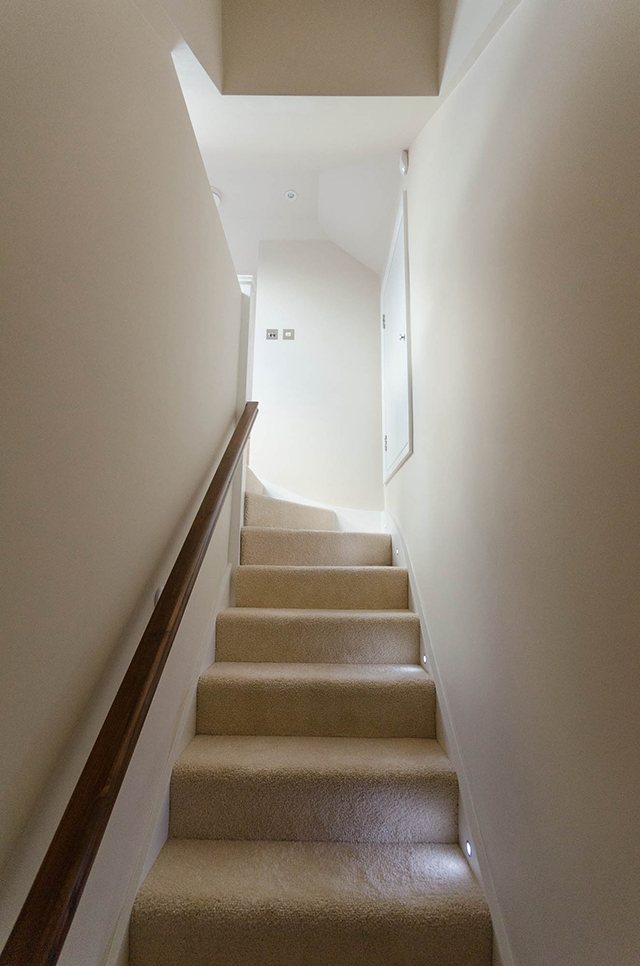 Stairs to first floor