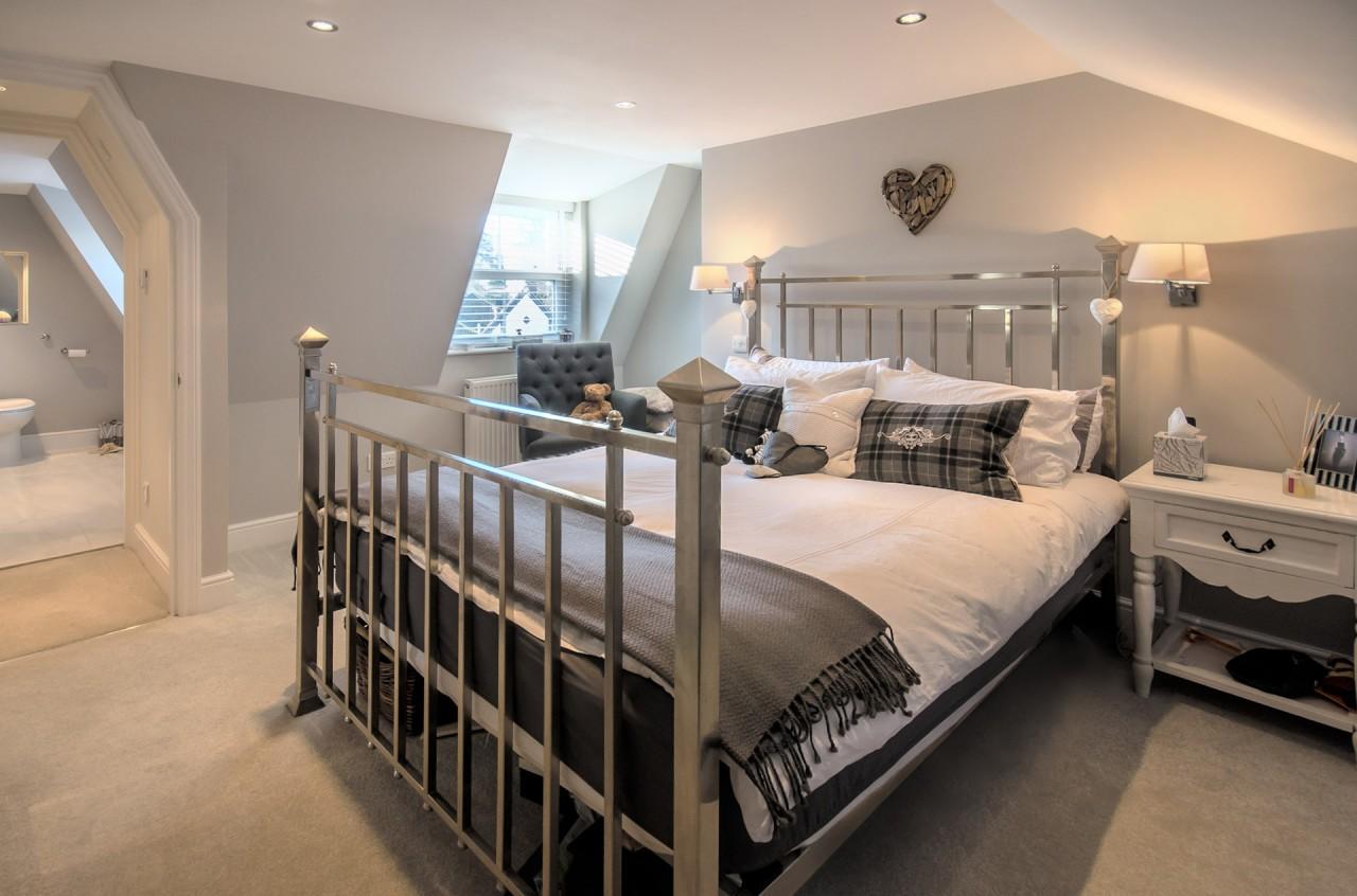 The new loft bedroom