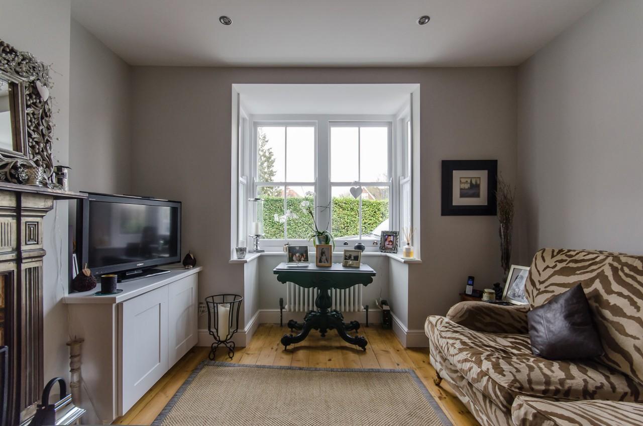 The refurbished living room