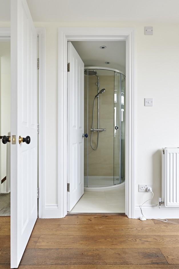 The loft conversion included an en-suite