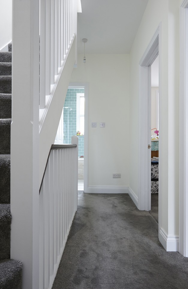 The space up to the loft