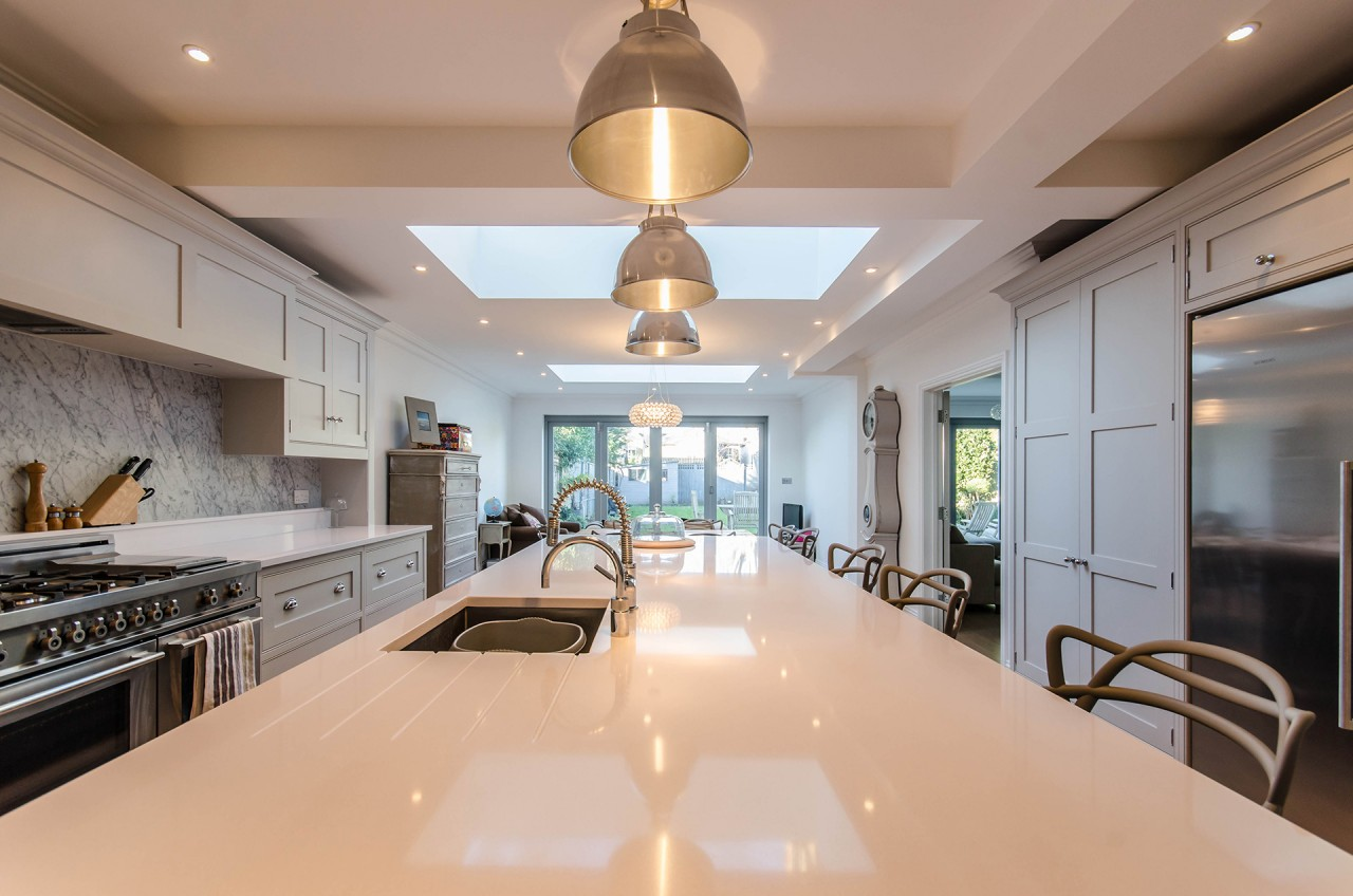 Kitchen in new extension