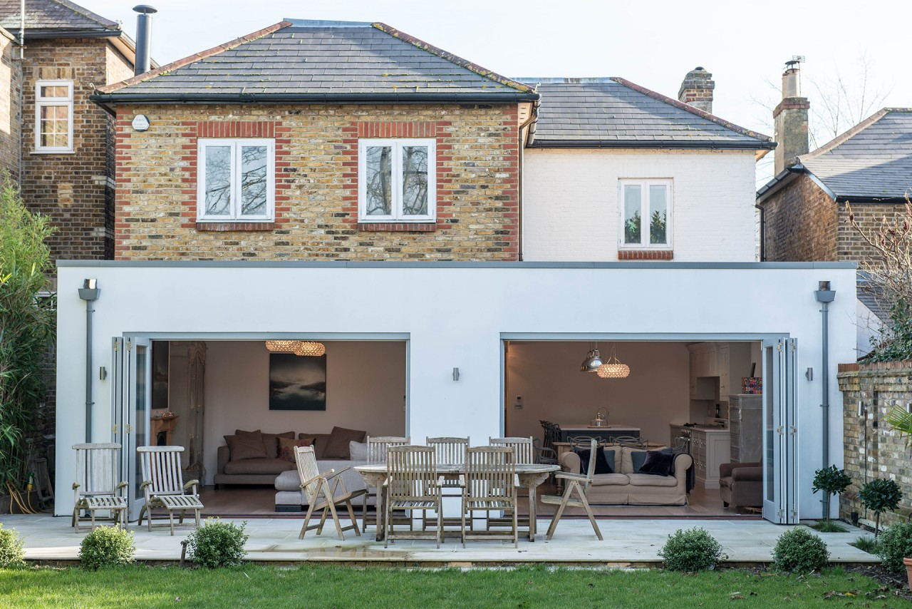 Velux Bi-fold Doors transform the kitchen
