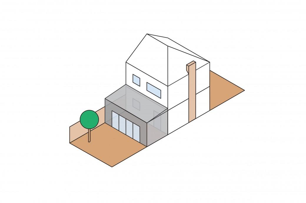 Kantec Rear Extension Illustration