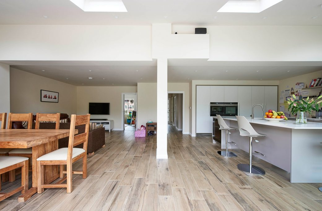 Finished Wooden Floor