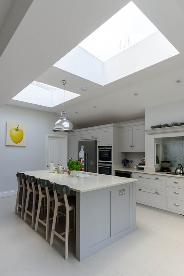 Bright new kitchen extension