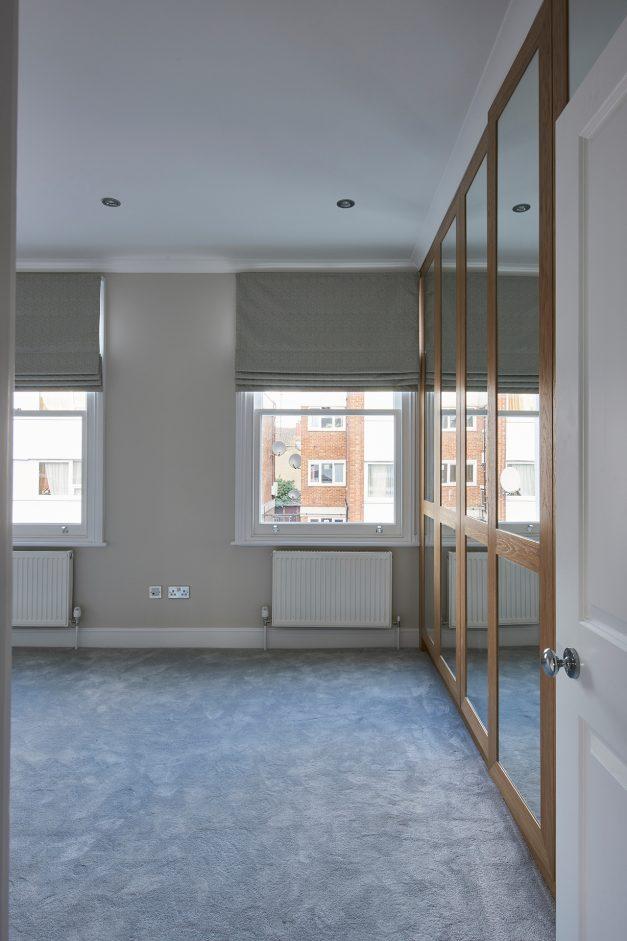 Bedroom with inbuilt storage