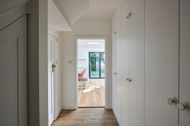 Hallway bespoke storage