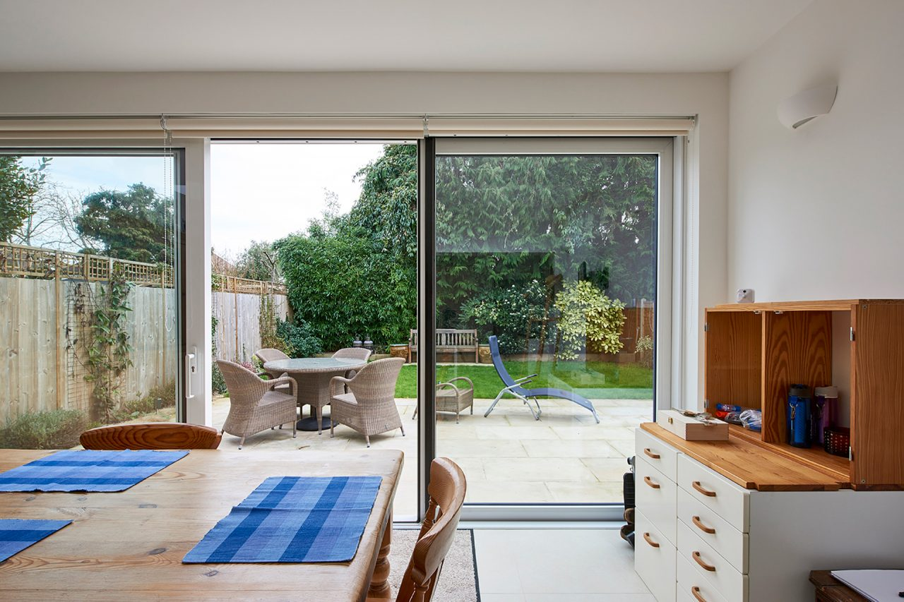 Dining area Bifold doors