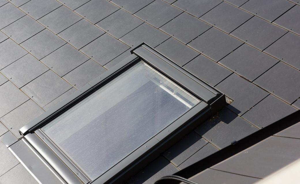 Detail of new skylight