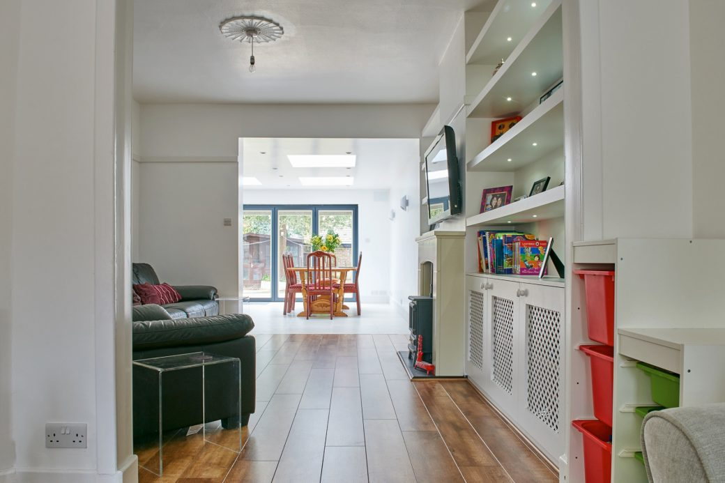 Living and kitchen extension
