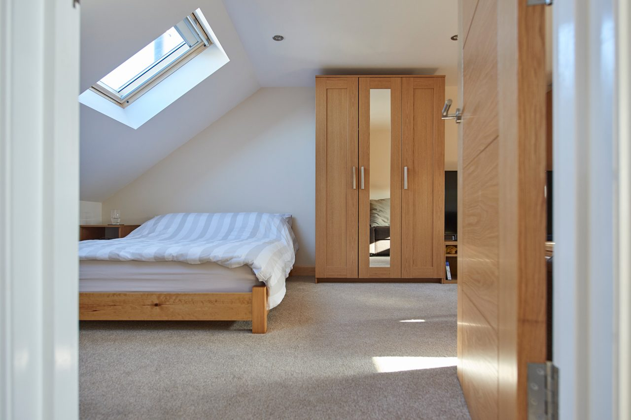 Large Bedroom in loft extension