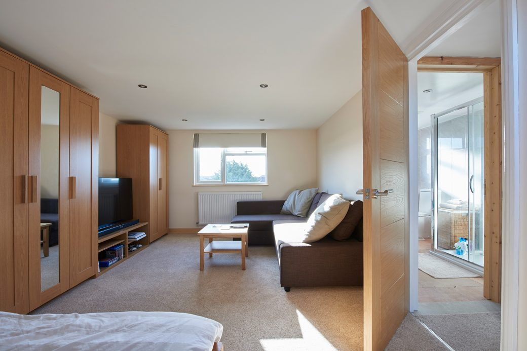 Living space in extension