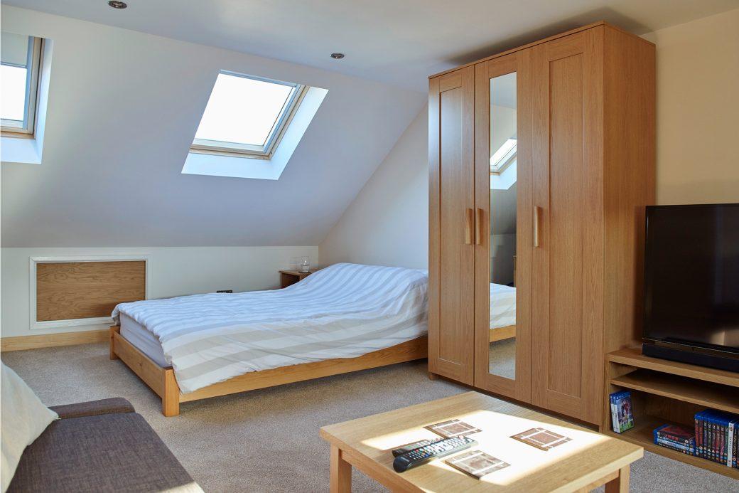 A light new bedroom