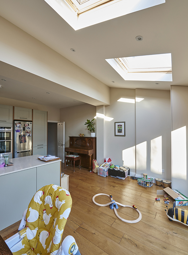Large kitchen extension