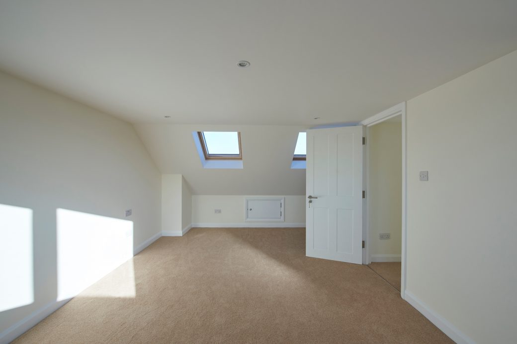 Large room in extension